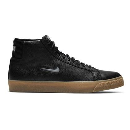 Tênis Nike Sb Zoom Blazer Mid Prm Black