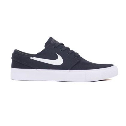 Tênis Nike Sb Zoom Janoski Canvas Rm Preto Branco Ar7718 001