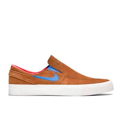 Tênis Nike Sb Zoom Janoski Slip Rm Marrom Azul At8899 201