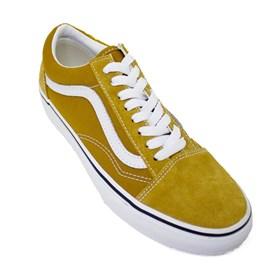 Tênis Vans Old Skool Golden Brown True White VN0A3WKT9GE