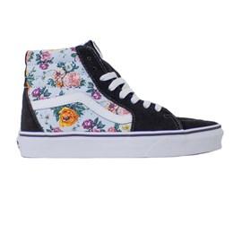 Tênis Vans Sk8 Hi Garden Floral True White Vn0a4bv6v3f