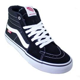 Tênis Vans Sk8 Hi Pro Black White Vnb00vhgy28