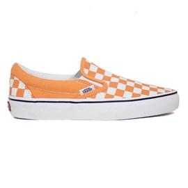 Tênis Vans Slip On Checkerboard Cadmium Orange VN0A33TB9HL