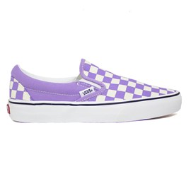 Tênis Vans Slip On Checkerboard Chalk Violet VN0A33TB9HM