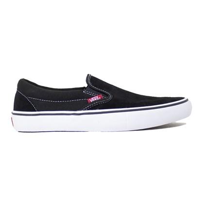 Tênis Vans Slip-on Pro Black White Gum Vnb0097m9x1