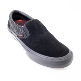 Tênis Vans x Baker Slip On Pro Black Black Red VnoA347vv0h