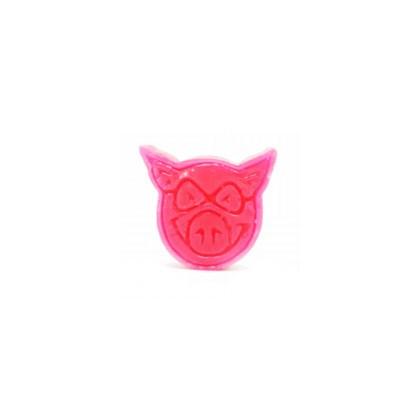 Vela Pig Wheels Rosa Importada